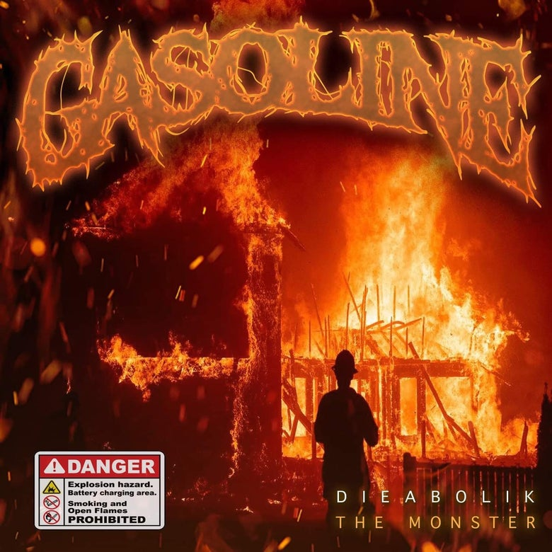 Image of Dieabolik The Monster - Gasoline CD (PREORDER)