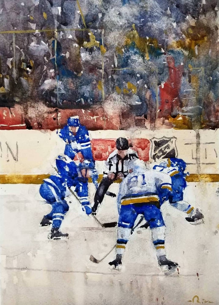 Image of Hockey Night in Canada prints