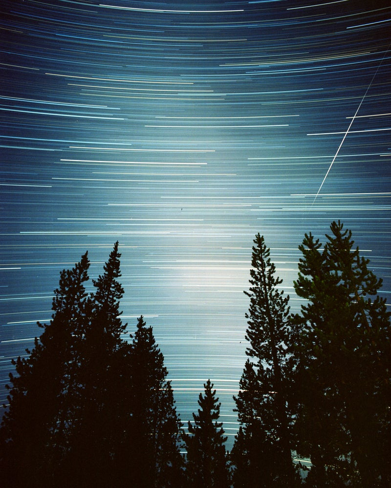 Image of Night Sky Over Central Oregon