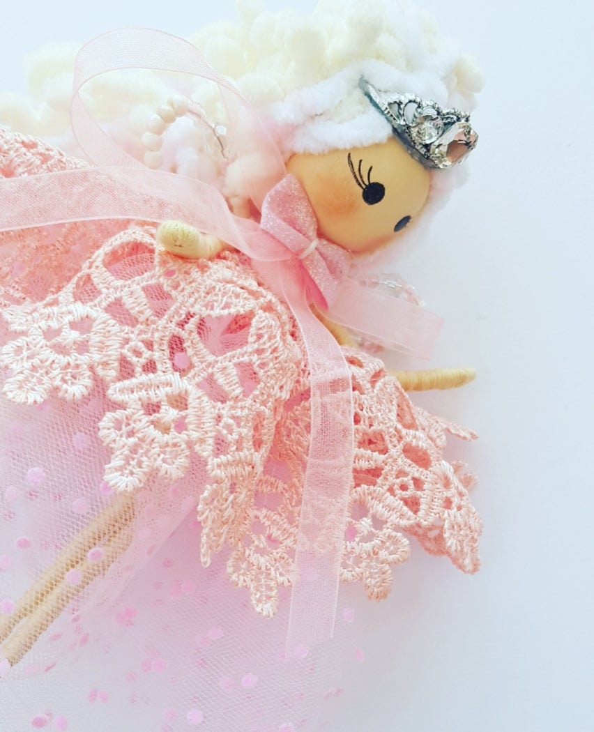 Image of NEW - Decorative Princess Marshmallow Fairy