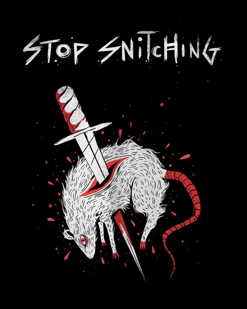 Image of Stop Snitching T