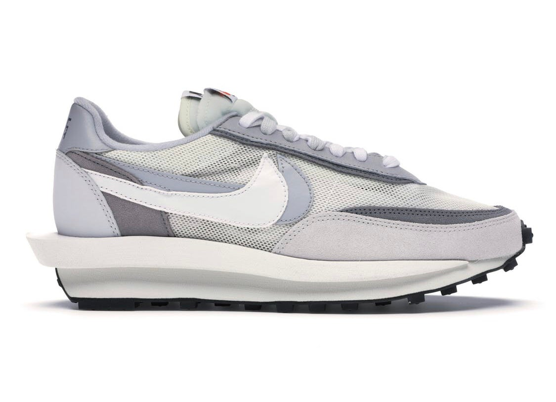 Image of NIKE LDWAFFLE/SACAI SUMMIT WHITE