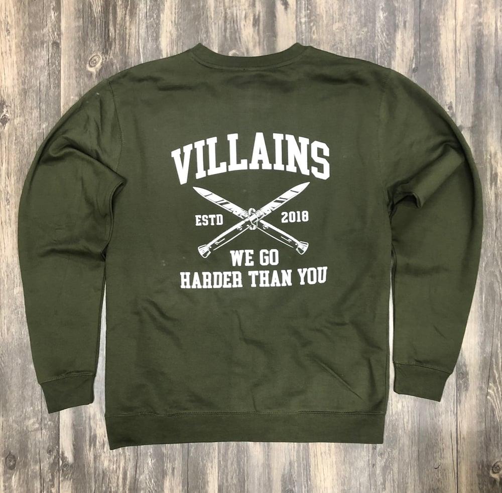 WE GO HARDER crewneck sweatshirt