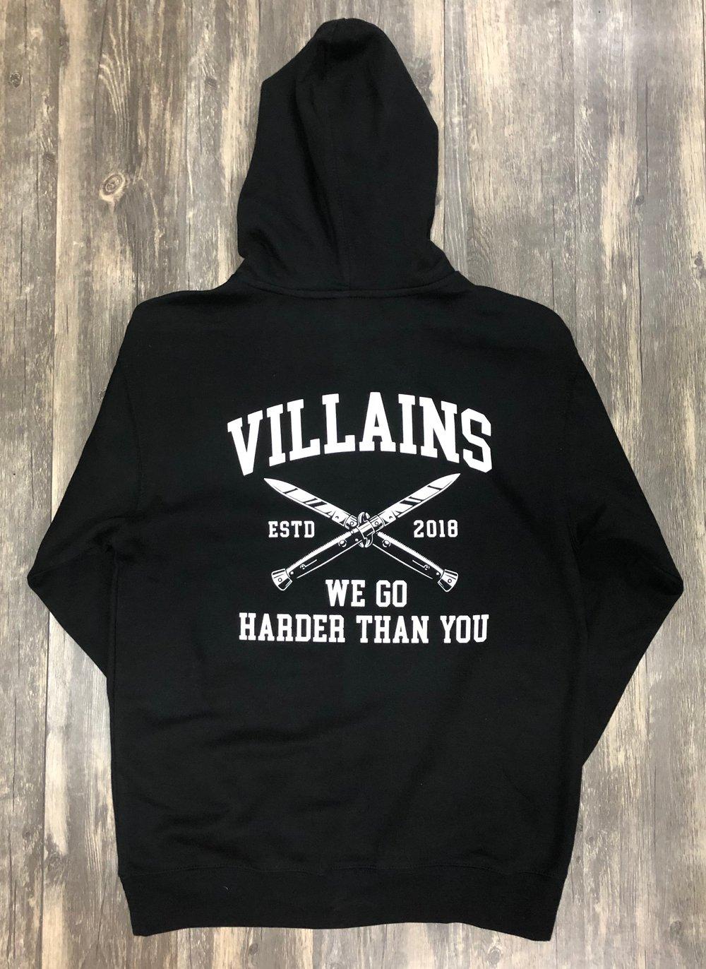 WE GO HARDER hoodie