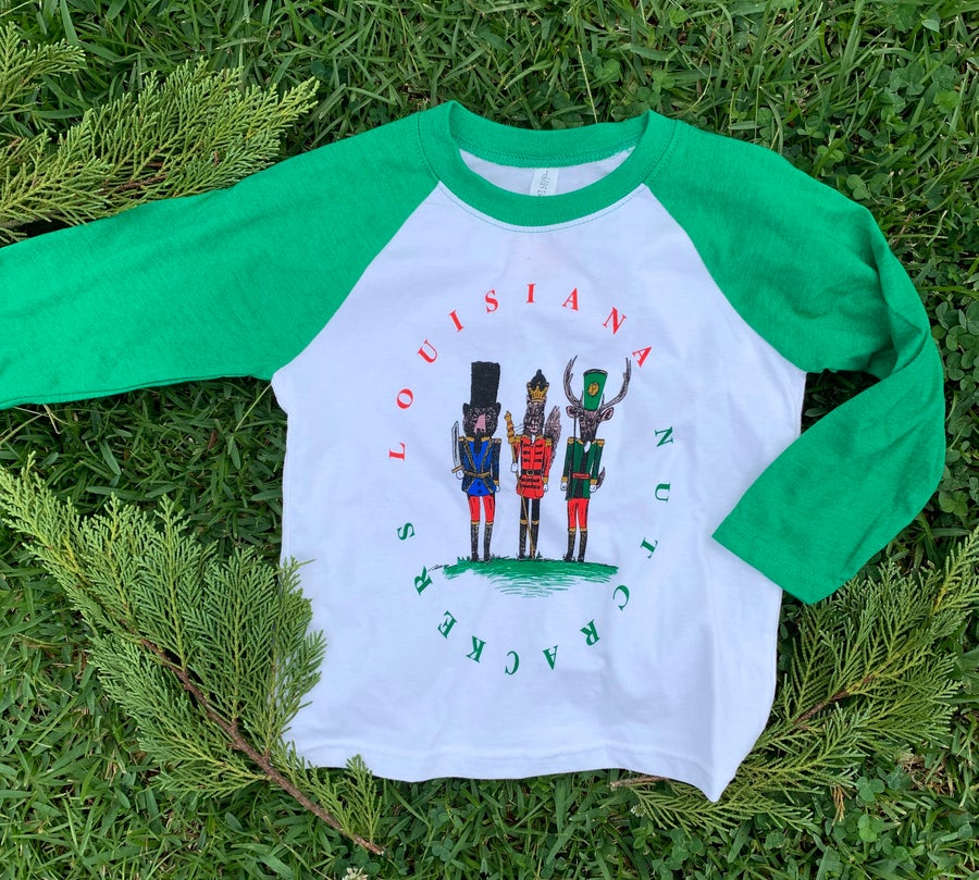 Image of Toddler/Youth Louisiana Nutcracker Raglan
