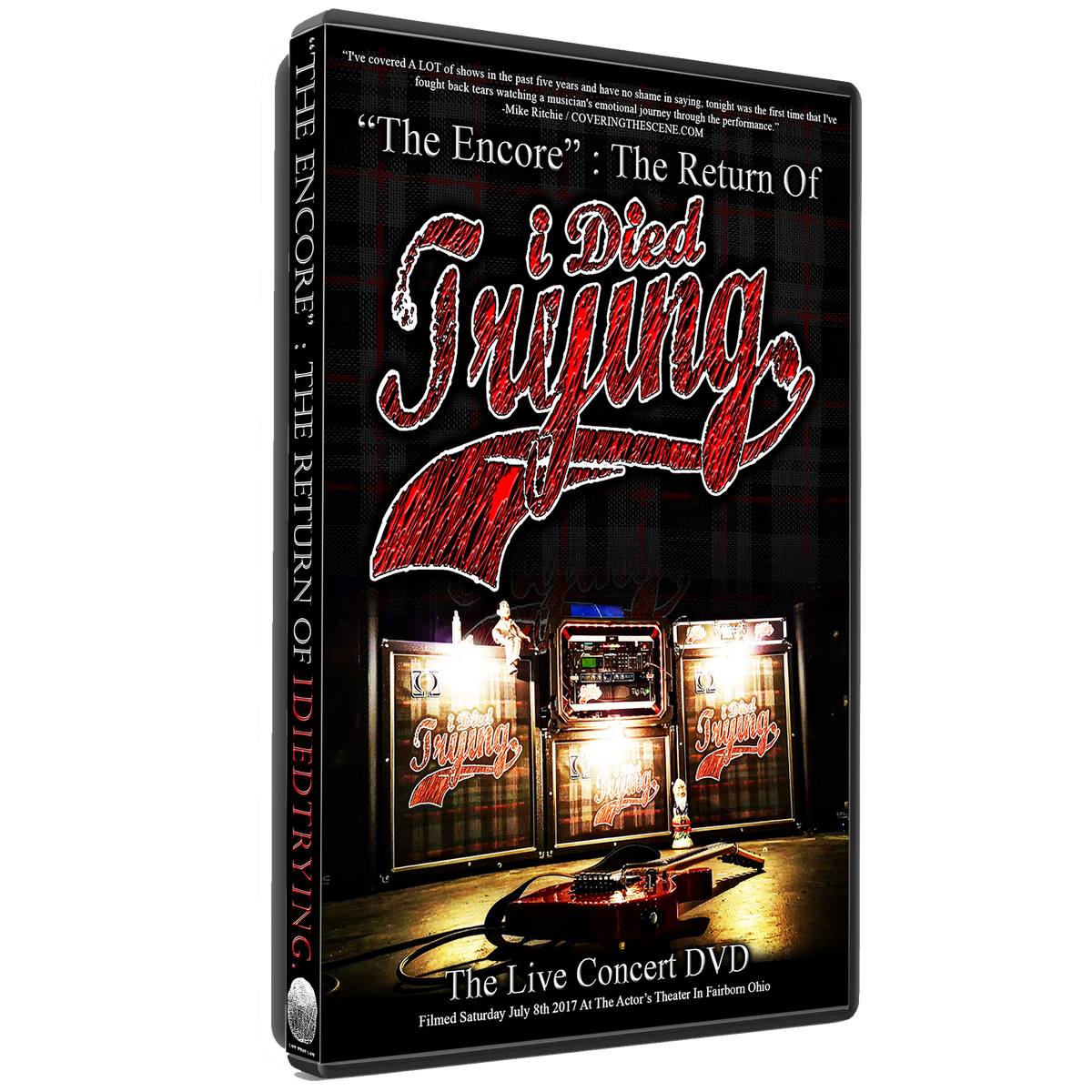 "Image of ""The Encore : The Return Of idiedtrying."" - The Live Concert DVD & MORE! (FREE WORLDWIDE SHIPPING!)"