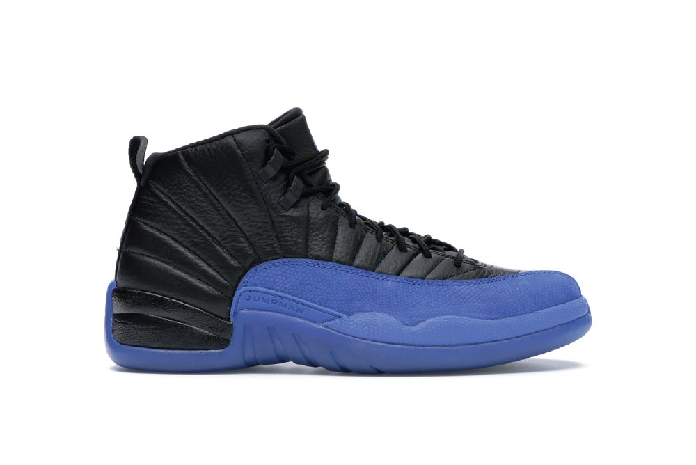 Image of Jordan 12 Retro Black Game Royal 130690-014