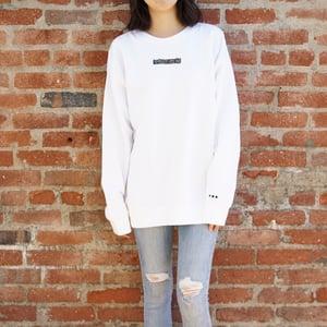 FRUI DTLA Graphic White Sweatshirt