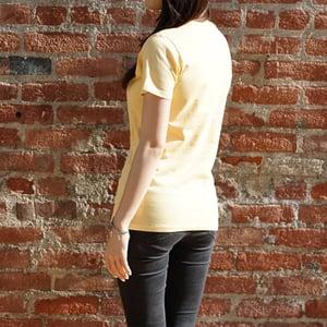 FRUI Yellow Multi-colored Symbol Tee
