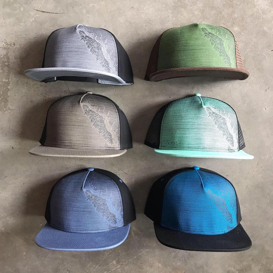 Image of Van Isle Topo Hat