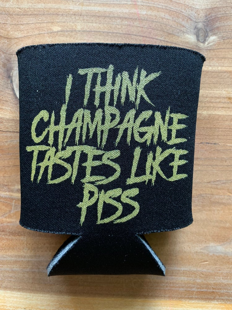 Image of Champagne coozie