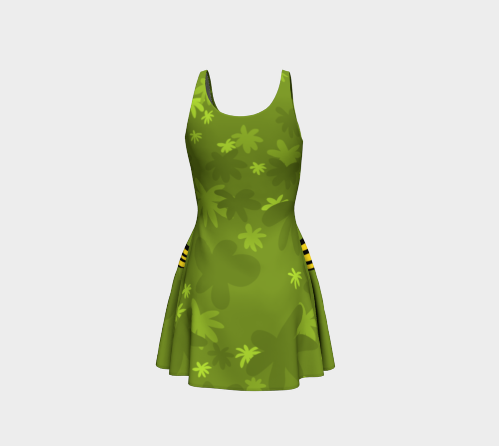 Image of A Walk in the Park - Flare Dress