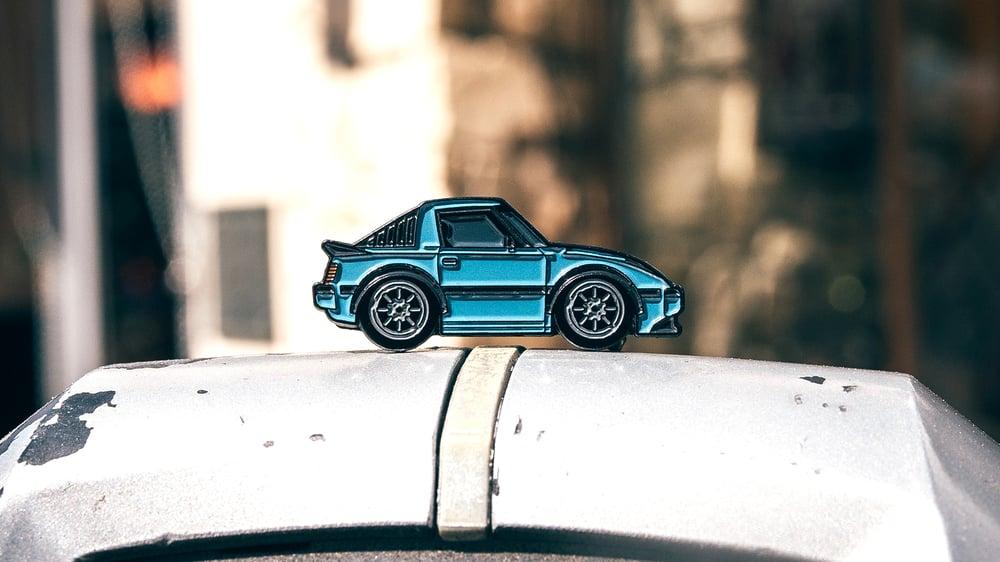Image of Blue Demon Pin