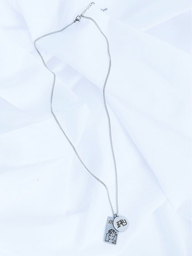 Image of 【ANOTHERYOUTH】2 pendant necklace