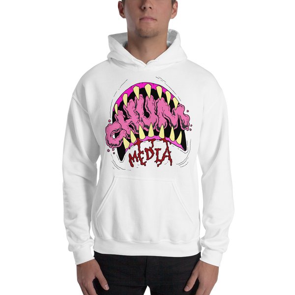 Image of WHITE TEETH LOGO HOODIE
