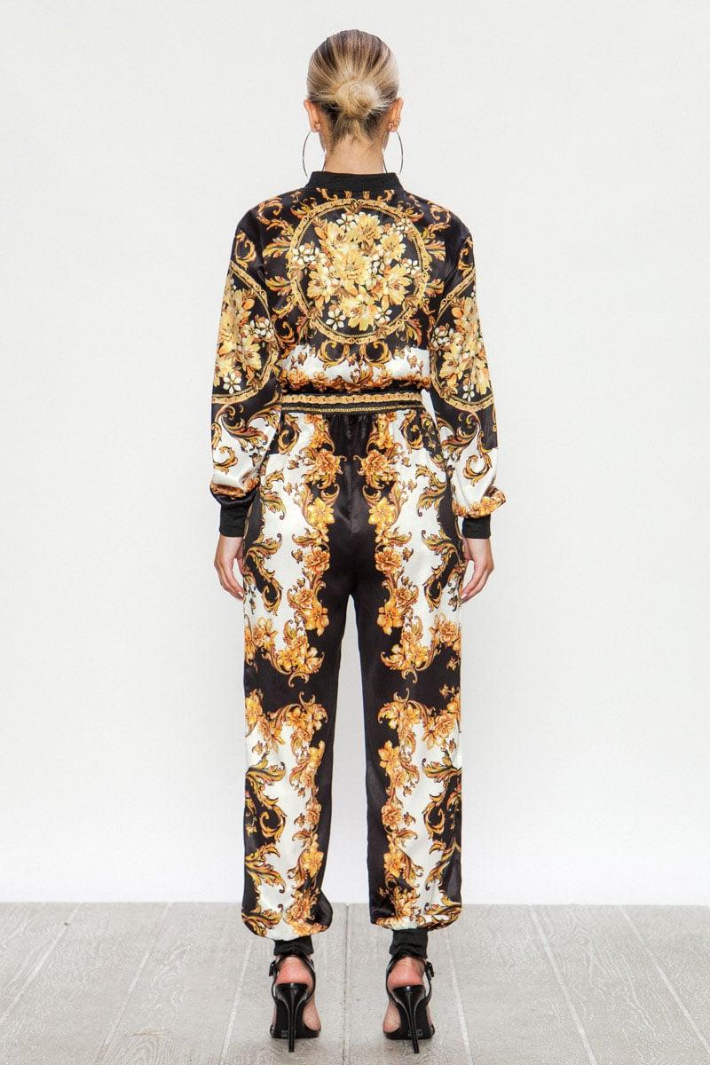 Image of Printed Jumpsuit