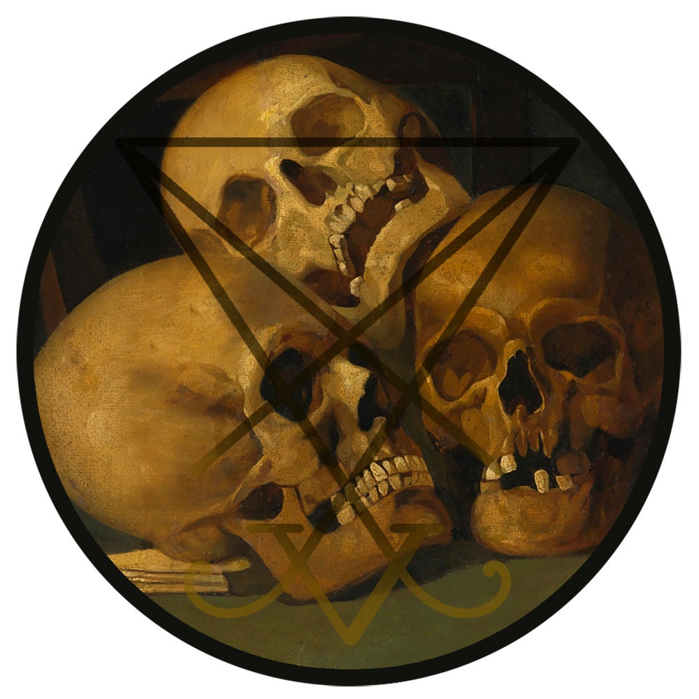Image of Skull society patch
