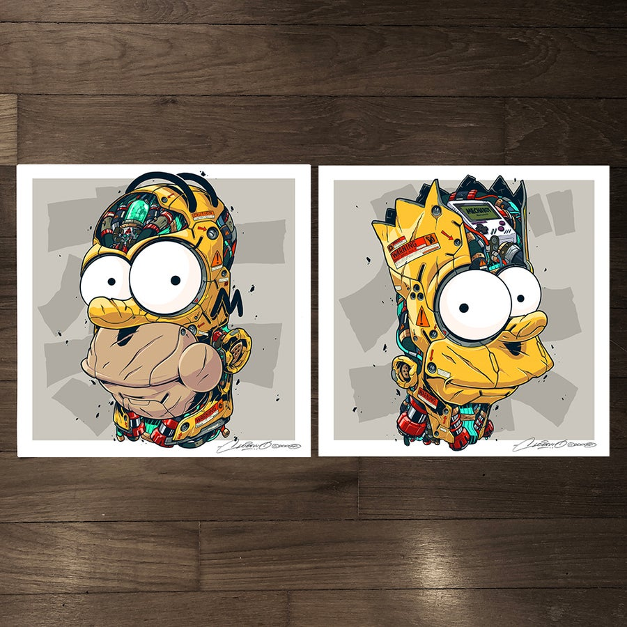 Image of MECHASOUL HOMER + BART