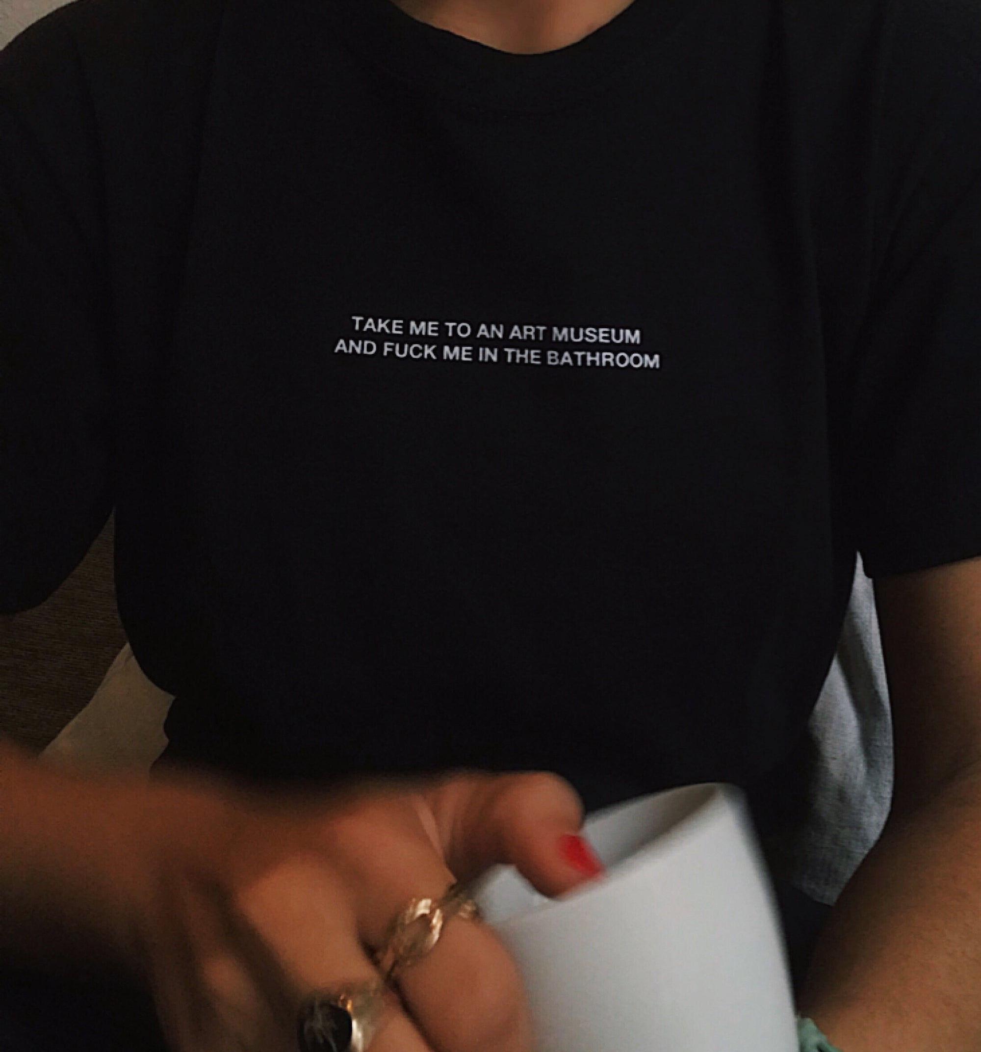 Image of Take me to the art museum T-shirt