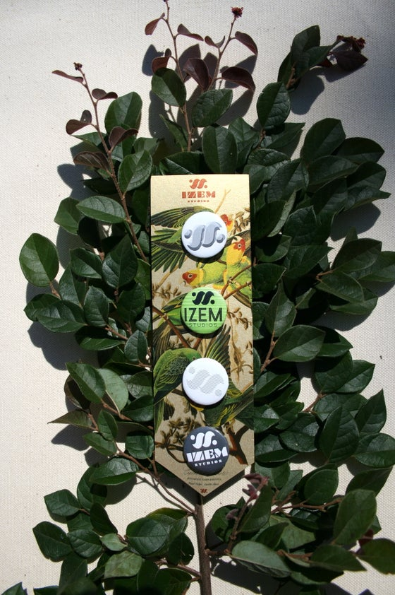 Image of IZEM Branded Button Pack
