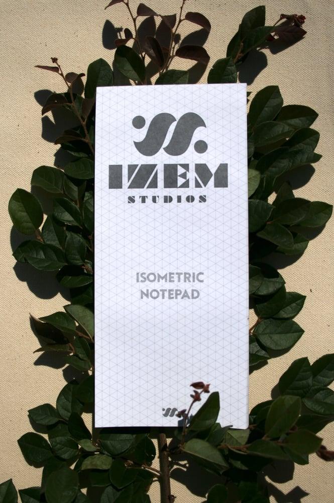 Image of IZEM Studios Isometric Notepad