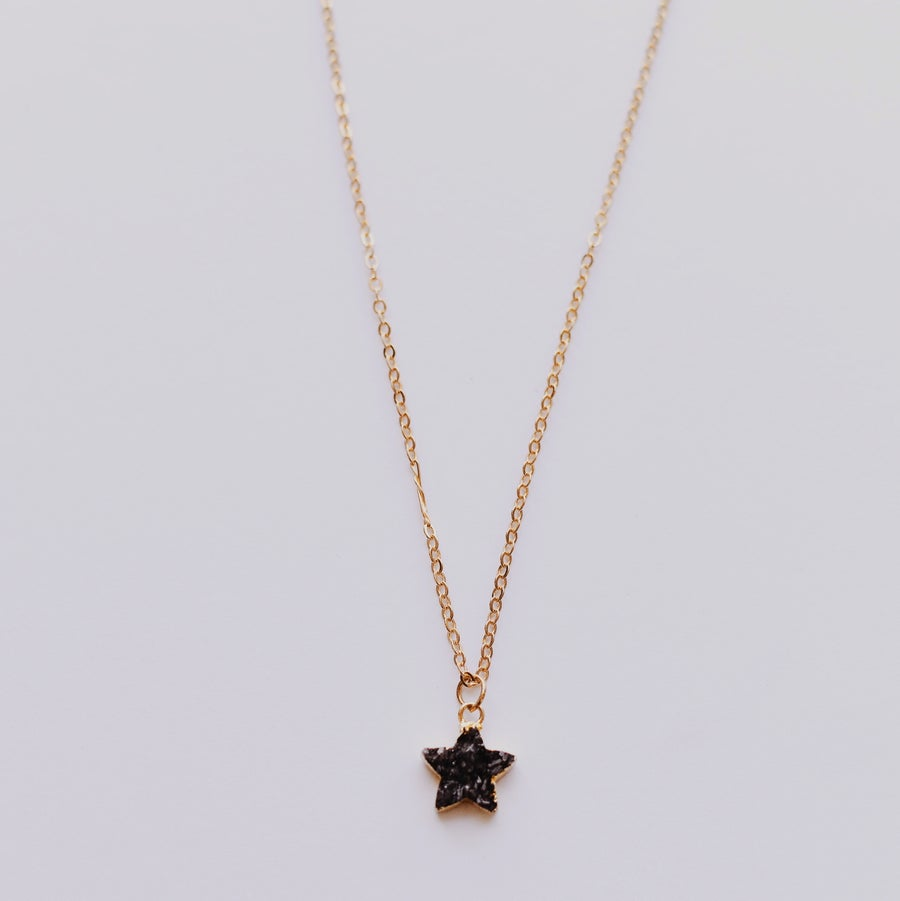 Image of Constellation Necklace | Black