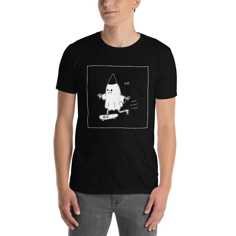 Image of No Skate Here Ghost (Black)