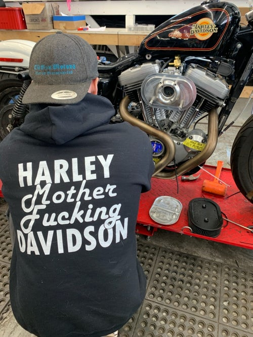 Image of HARLEY MOTHER FUCKING SWEATSHIRTS