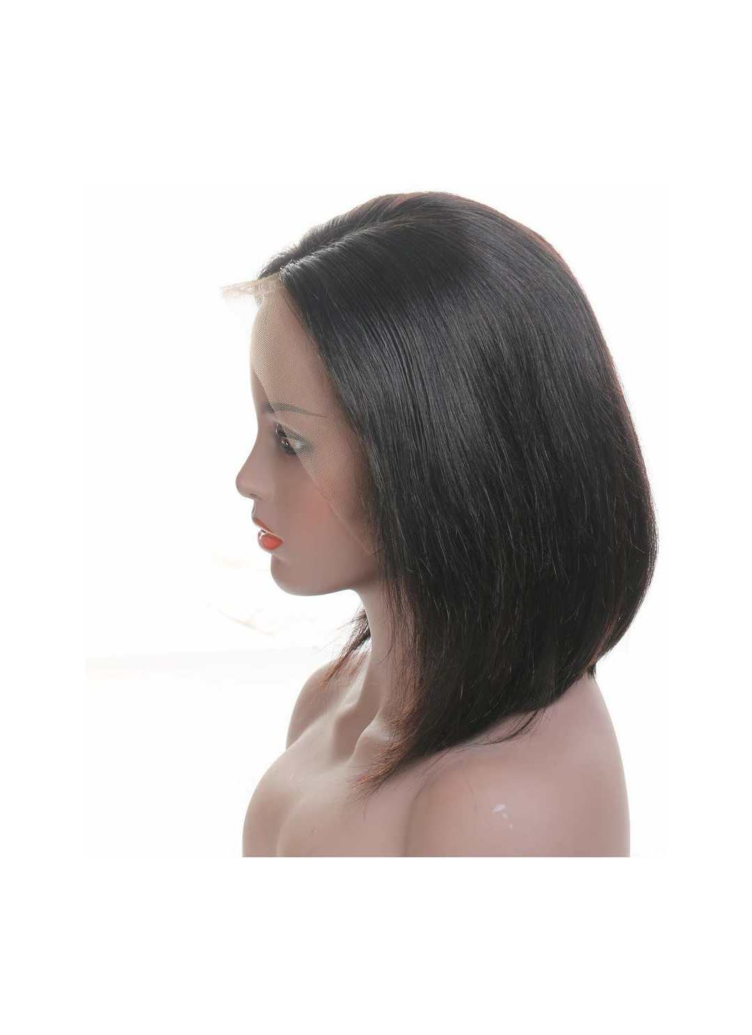Image of 10inch lace front bob wig