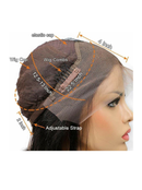 Image 3 of 10inch lace front bob wig
