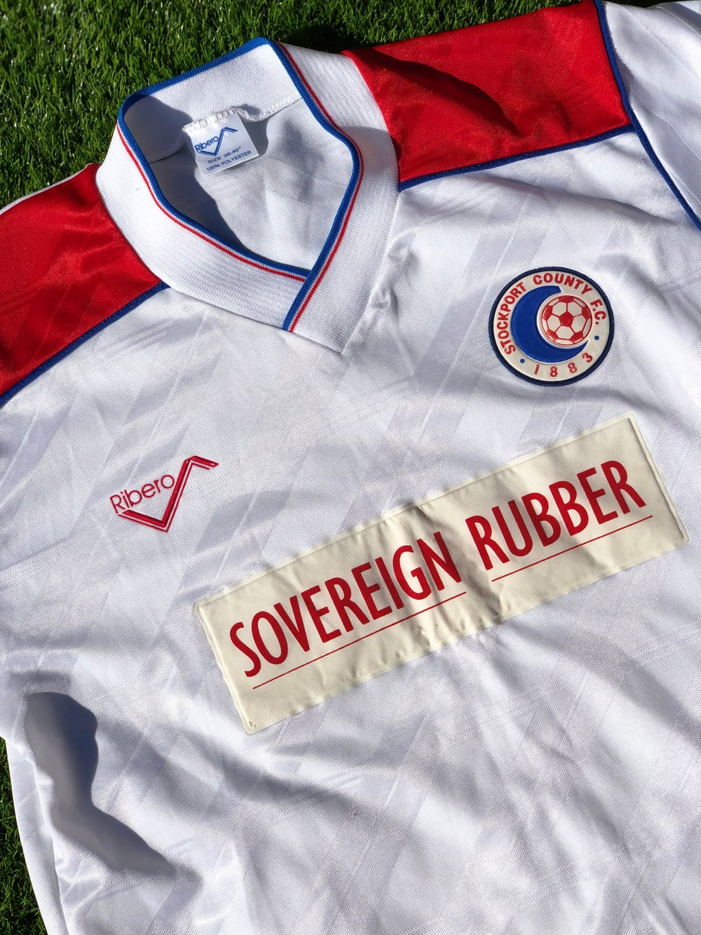 Image of Replica 1989/90 Ribero Home Shirt