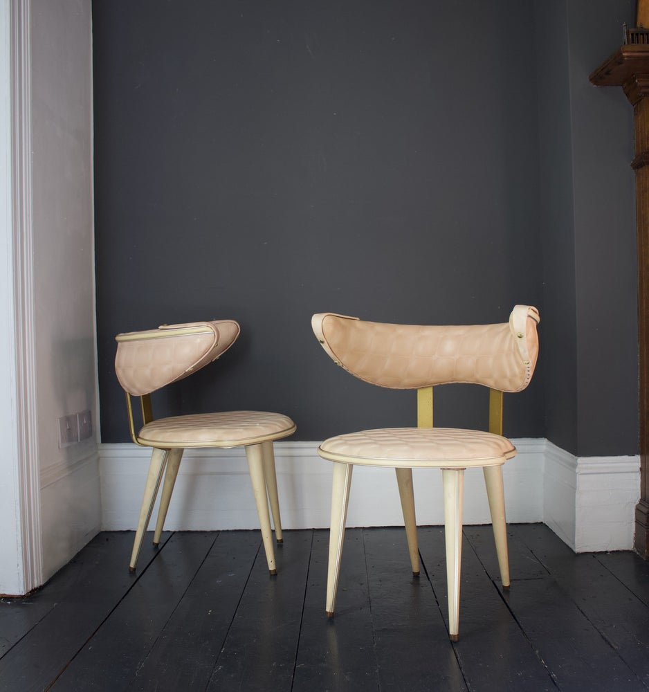 Image of Pair of Chairs by Umberto Mascagni, Italy
