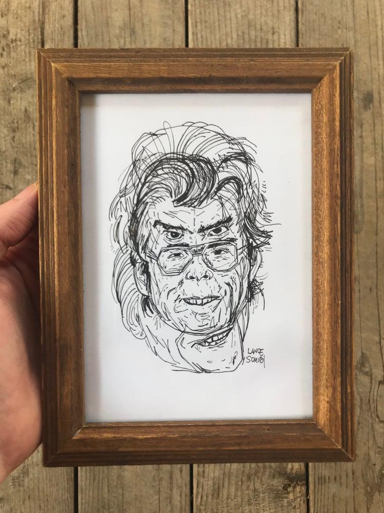 Image of Original Stephen King Multi-face FRAMED
