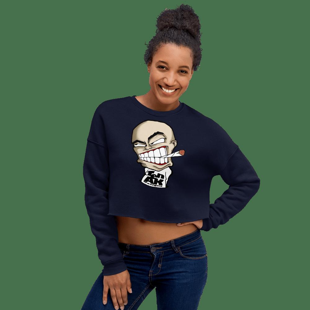 Image of Women's Cropped Sweatshirt