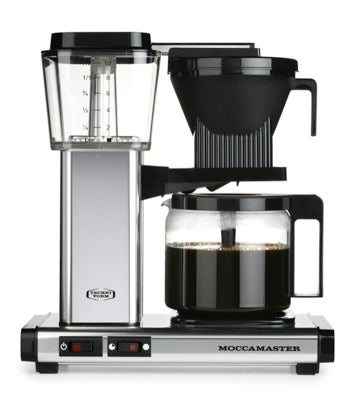 Image of Moccamaster KBG 741 Filter Coffee Machine - Silver