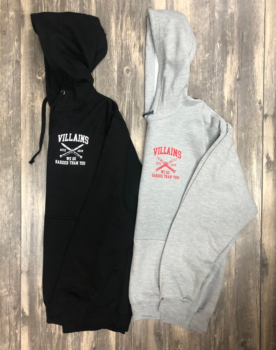 Image of WE GO HARDER hoodie