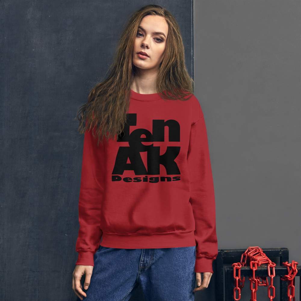 Image of Women's Block Logo Sweatshirt