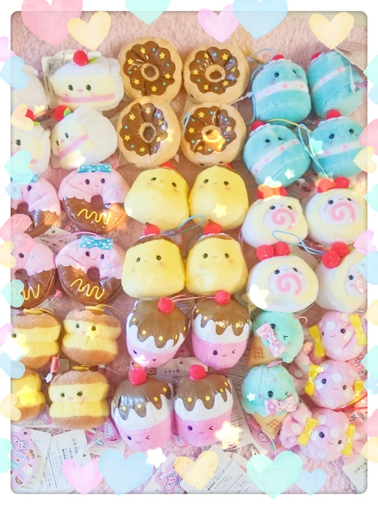 Image of Kawaii Plush Straps from Japan! Over 10 to choose from!