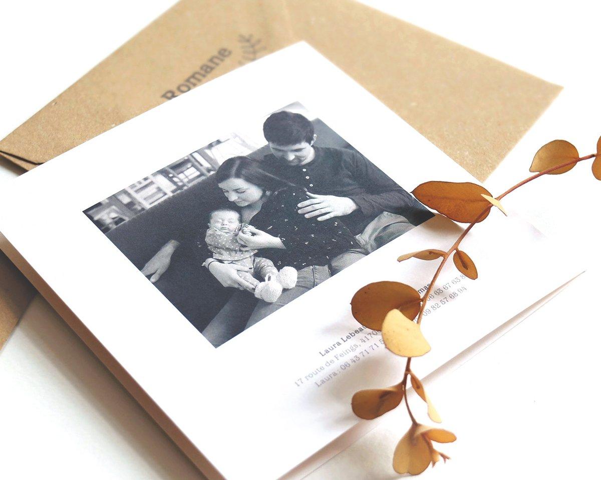 Image of Faire-part naissance LÉON