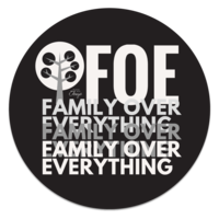 Image of FOE 2 Message Coaster