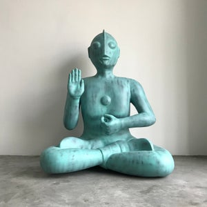 Image of Sitting Gaia - Green