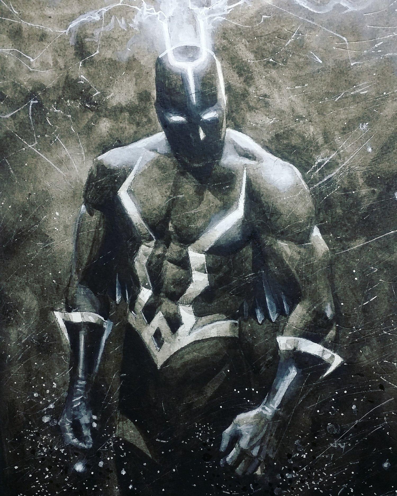 Image of Black Bolt prints
