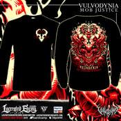 "Image of VULVODYNIA - ""V"" symbol - Longsleeve"