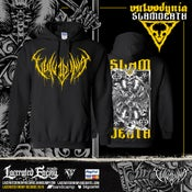 Image of VULVODYNIA - Slam Death 2019 - Hoodie - yellow