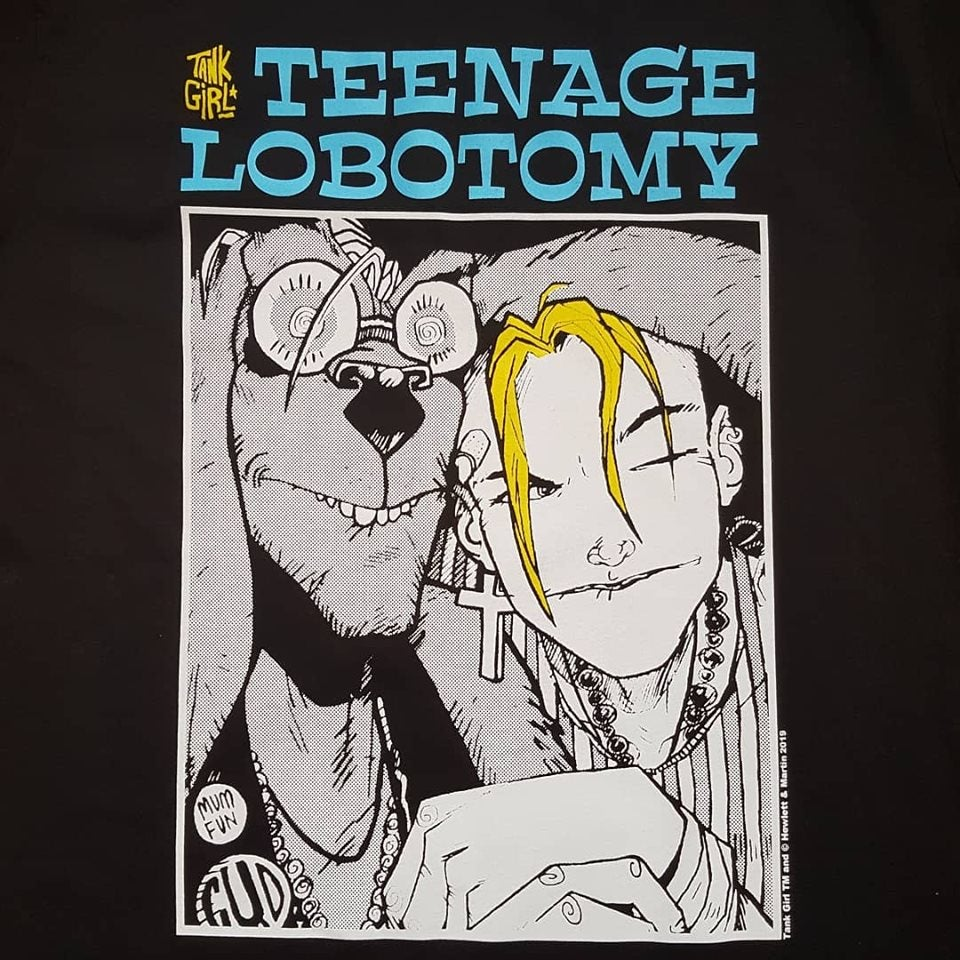 Image of Teenage Lobotomy T-Shirt - Original Design