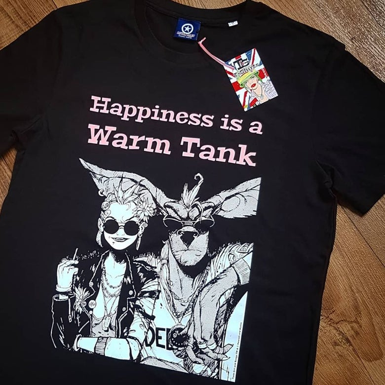 Image of Happiness is a Warm Tank T-shirt - ORGANIC!