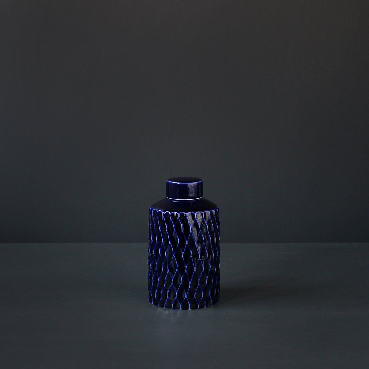 Image of 'Fluted' Ginger Jar by Rhian Malin.