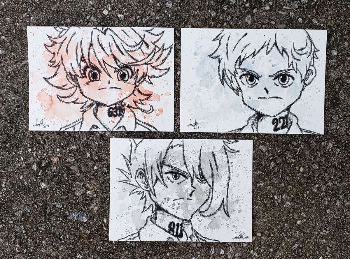 Image of The Promised Neverland Character Set