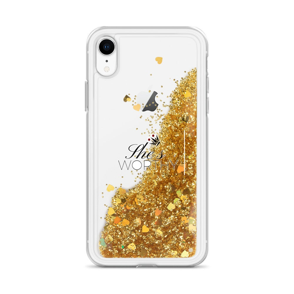 Image of She's Worthy iPhone Case (7,8,X,XS,XR)
