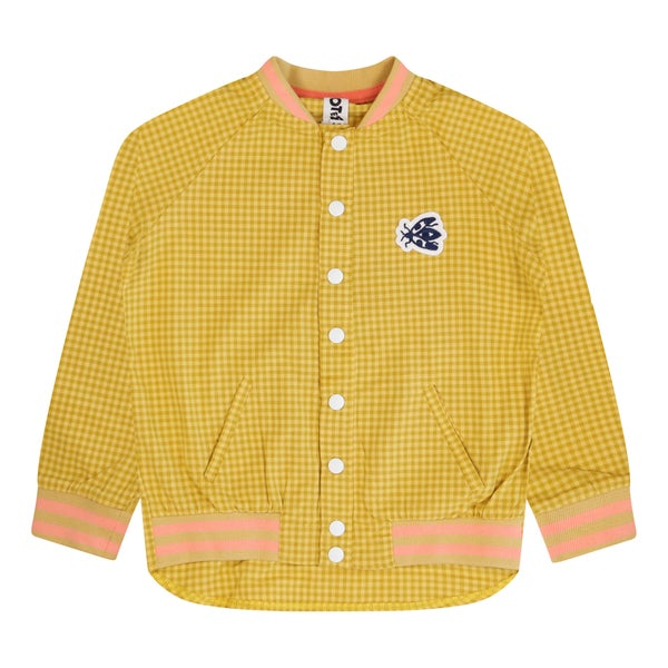 Image of Gingham Bomber Shirt